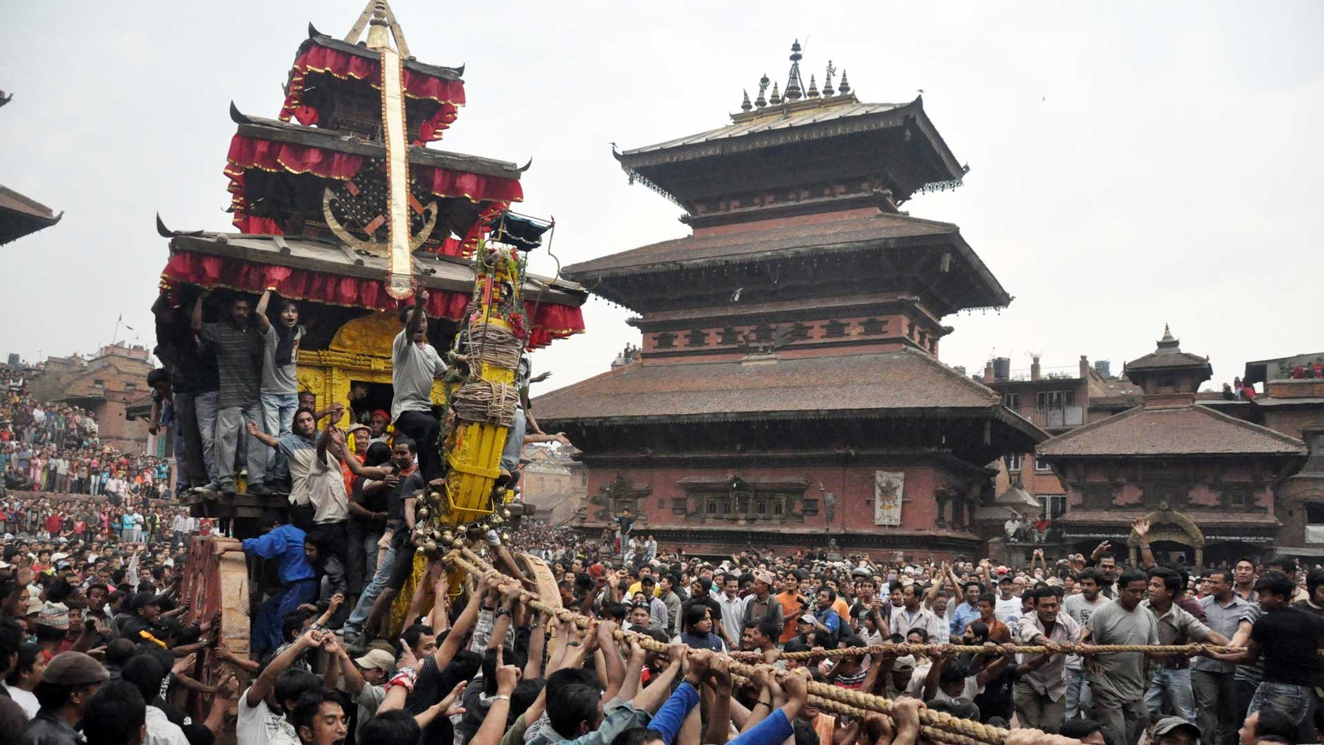 The Bisket Festival of Bhaktapur: Bhairava and Tantricism